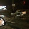На Фрунзенском мосту пьяные ребята устроили жесткое ДТП