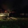 В Омском районе спасатели больше часа тушили дачный дом