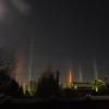 Из-за мороза в Омске можно наблюдать «световые столбы»