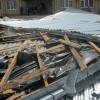 Ураган снес крышу Дворца культуры в Омской области