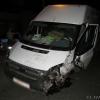 В Омске водитель в честь трудоустройства угнал маршрутку и совершил ДТП