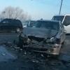 На улице Лукашевича в Омске произошла крупная авария