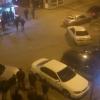 В Омске под окнами облправительства по ночам проходят гонки стритрейсеров