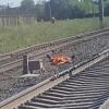 В Омске поезд сбил человека
