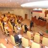 Студенты обсуждают кандидатов в молодёжный парламент