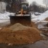 Омск начал запасаться песком и солью к зиме