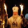 В Омск прибыл Благодатный огонь из Иерусалима
