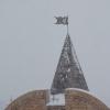 В Омскую область возвращается снег и сильный ветер