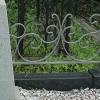 Как выбрать металлическую ограду на могилу