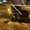 В Омске две машины от удара выкинуло на пешеходный переход