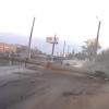 Пьяный омич на «ВАЗе», скрываясь от сотрудников ДПС, сбил столб у Телецентра