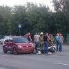В Омске снова сбили мотоциклиста (фото)
