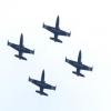 Пилотная группа «Регион» нарисовала на омском небе сердце