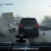 В Советском округе таксист врезался во встречную иномарку