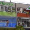 Четырехэтажное граффити украсило дом в центре Омска
