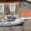В затопленных районах Омской области почту жителям будут доставлять на лодках