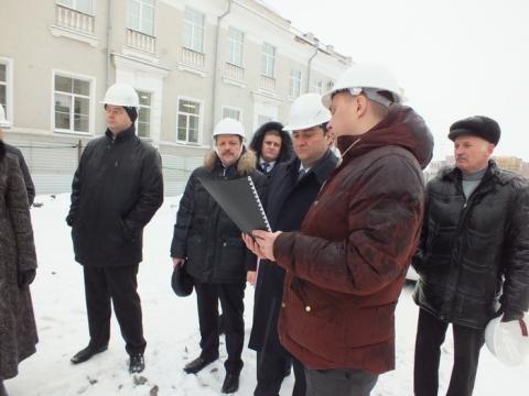 Рабочий визит замминистра культуры РФ