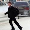 Омич недоволен, что его сына задержали инспекторы за переход дороги в неположенном месте