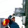 В Омске восстанавливают дорожные знаки после урагана