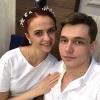 Омская балерина родила хоккеисту девочку
