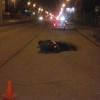 Ночью в Омске разбился водитель мопеда