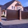 Уличные сдвижные ворота