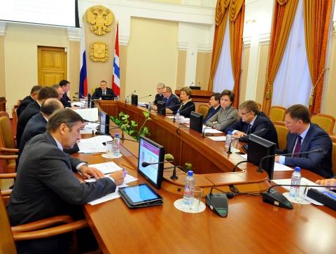 Последнее заседание Правительства Омской области в 2015 году