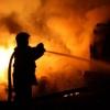 Омская полиция проводит проверку по факту гибели работника автомойки во время пожара