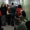 Омича возмутила очередь в городской поликлинике
