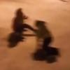 Женщина с ребенком вылетели за пределы горки в Амурском поселке