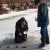 В Омске рыбаки начали выходить на лед