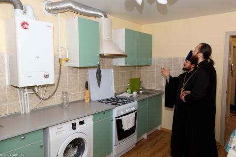 ВОмске открылась квартира для женщин, попавших втрудную ситуацию