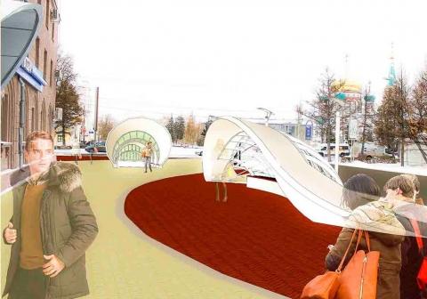Проект сосветящимися башнями-парковками наулице Тарской вОмске признали лучшим