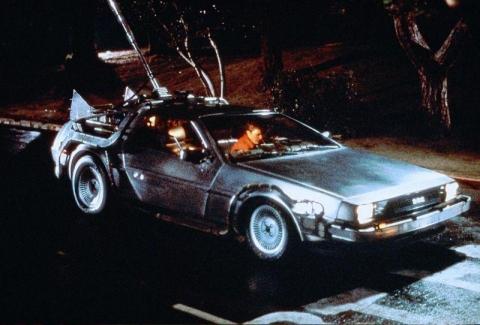 DeLorean анонсировала летающий электромобиль DR-7