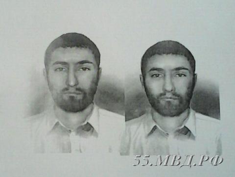 ВОмске ищут кавказца, который вкафе изувечил мужчину