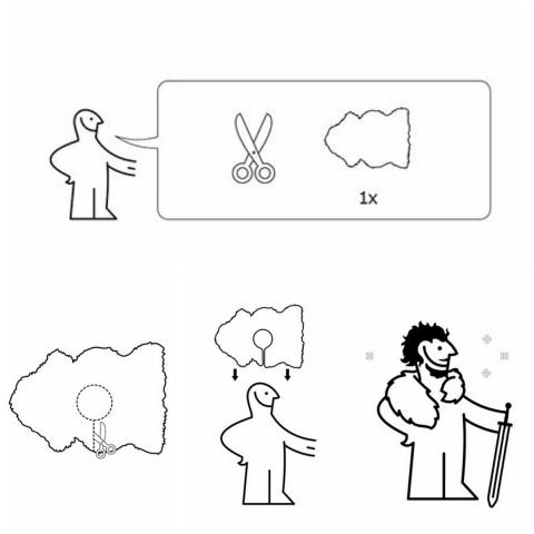 Как сделать костюм Джона Сноу изковра IKEA— Инструкция