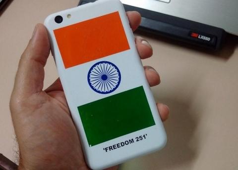 В РФ  дебютировал индийский смартфон за260 руб.
