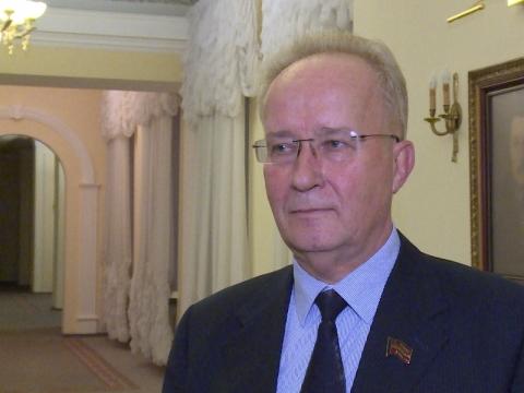 Справедливоросс Бурков встретился с«красным» депутатом Государственной думы Кравцом