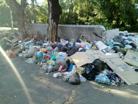 В Омске свалка у домов отравляет жизнь детям и взрослым