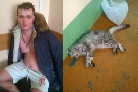 25-летний омич под действием «синтетики» зарезал мать и бабушку