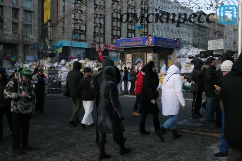 Сводки из Киева: штурм Украинского дома