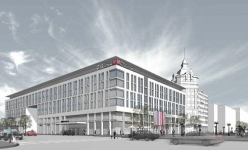 """""""Основа Холдинг"""" и """"Мостовик"""" договорились о проектировании комплекса с гостиницей Hilton"""