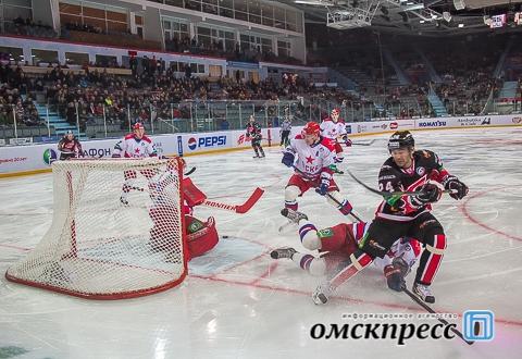 """Омский """"Авангард"""" второй раз в ноябре забросил за матч больше двух шайб"""
