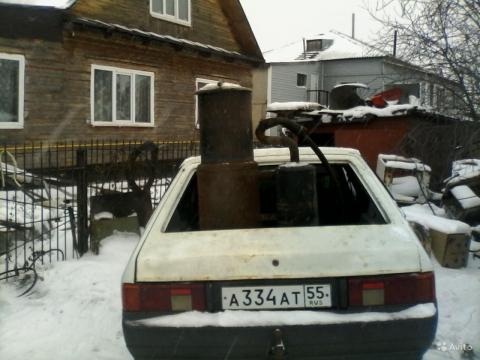 Омич сконструировал автомобиль, работающий на навозе