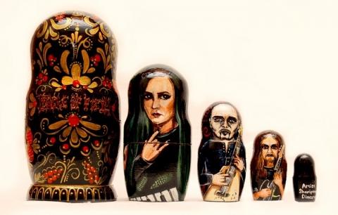 Cradle of Filth в Омске упаковали в матрешку