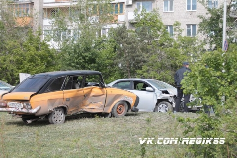 При столкновении машин пострадал годовалый ребёнок