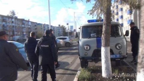 Омские полицейские задержали налётчика на кредитные офисы