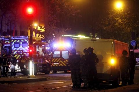 Теракты во Франции, произошедшие в минувшую пятницу