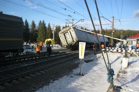 Омичи не доберутся до Москвы из-за аварии на Транссибе