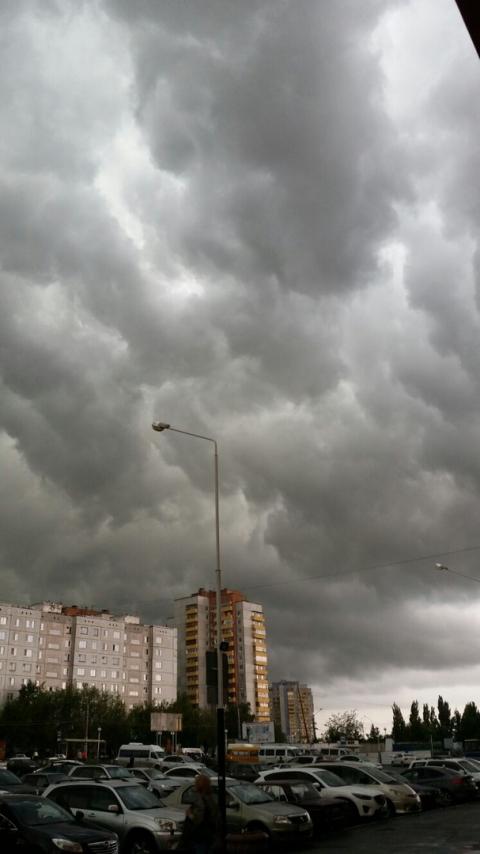 Соцсети: шторм над Омском (фото)